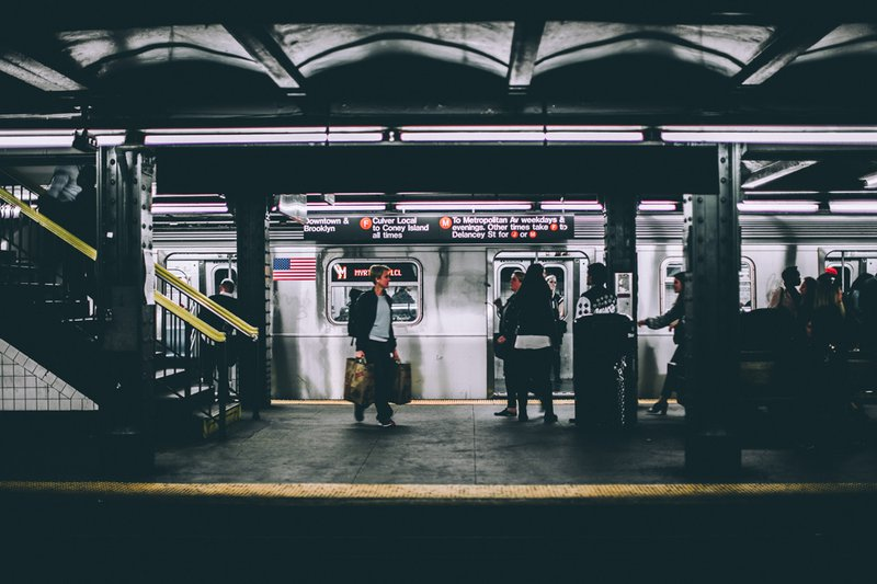F Train, Photo by Andre Benz