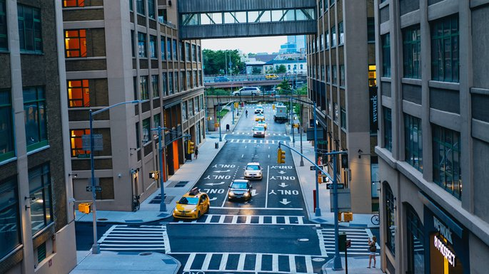 Streets in DUMBO Photo by Dan Gold