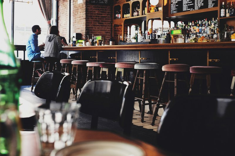 New York Bar, Photo by Luca Bravo