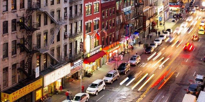 Bowery Street NYC