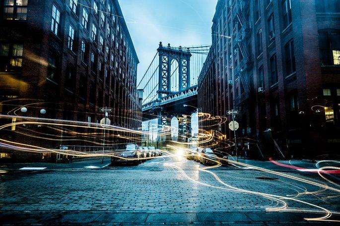 Dumbo Bridge Photo by Florian Schneider
