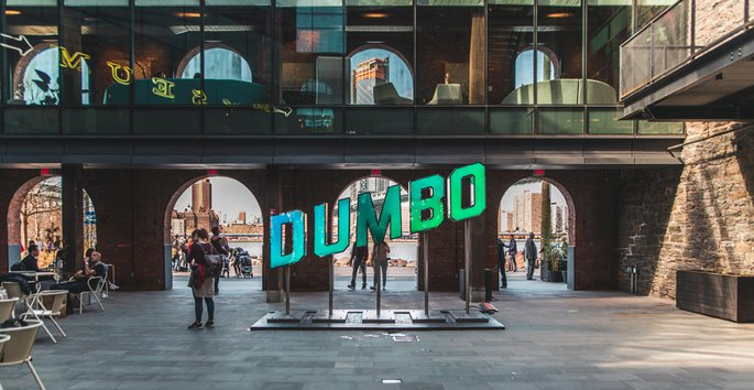 Museum in DUMBO, Photo by Tim Trad