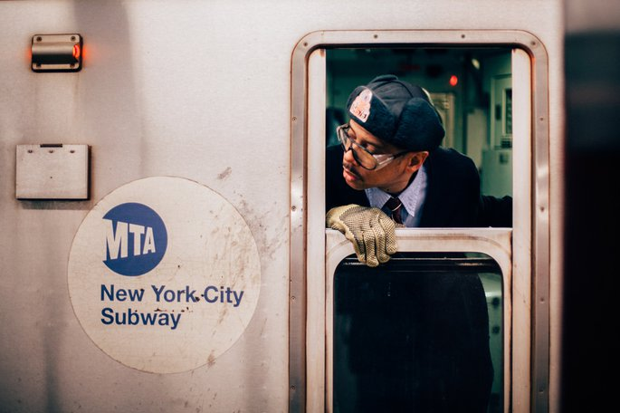 New York Subway, Photo by Oliver Cole