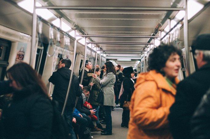NY Subway, Photo by Adelin Preda