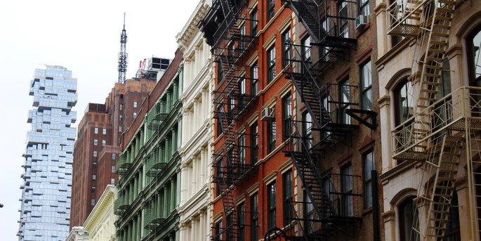 Tribeca Neighborhood Buildings